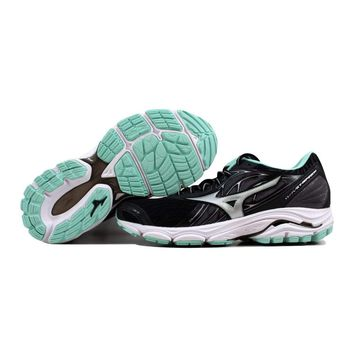 Mizuno Wave Inspire 14 Black/Silver-Teal J1GD184403