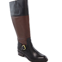 Lauren Ralph Lauren Women's Melanie Riding Boots - Black/Dark Brown