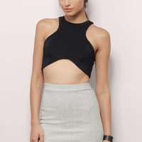 Race You There Crop Top