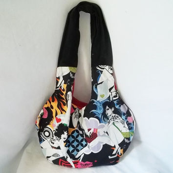 Hobo bag  Tattooed girls handbags  Customized handbags by ACAmour