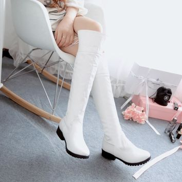 On Sale Hot Deal White Boots [11192769031]