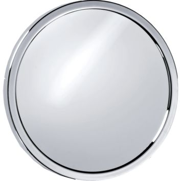 SPT 1 / SPT 2 Round Suction Cup 5X Cosmetic Makeup Magnifying Mirror, Chrome