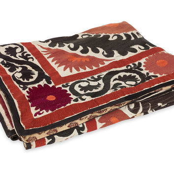 Suzani Bedcover, Vintage Blankets, Quilts & Coverlets
