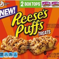 Reese's Puffs Cereal Bar Treats, 5.1 Ounce (Pack of 12)