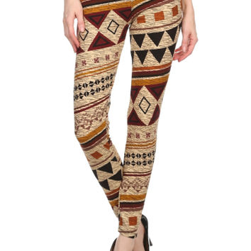 Somebody To Lean On Leggings-Taupe