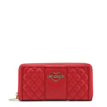 Love Moschino Women's Wallet Candy Red