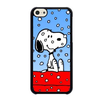 snoopy dog christmas iphone 5c case cover  number 1