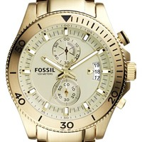 Men's Fossil 'Wakefield' Chronograph Bracelet Watch, 45mm