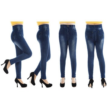 new design invention from New York  Paris Sexy Women Jeans Skinny Jeggings Seamless Stretchy Slim Leggings  SN9
