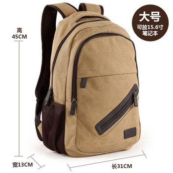 University College Backpack Men Male Canvas   Student School  Bags for Teenagers Vintage Mochila Casual Rucksack Travel BagAT_63_4