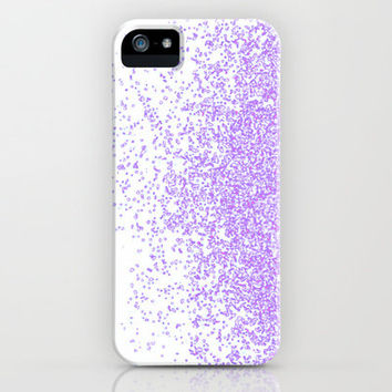 sweet and purple iPhone Case by Marianna Tankelevich
