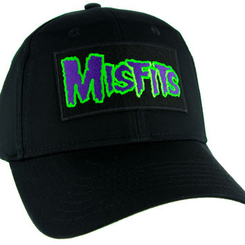 Psychobilly Deathrock Misfits Hat Baseball Cap Alternative Clothing Punk Rock Danzig
