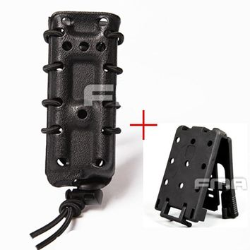Tactical Magazine Pouch 45ACP .45 Fast MAG Ambidextrous Double Side Modular Pistol Military Quick Module MG24 For Molle/Belt