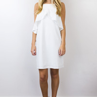 Wonder White Shift Dress