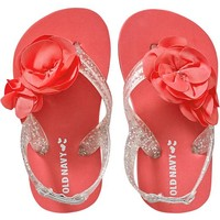 Old Navy Rosette Flip Flops For Baby