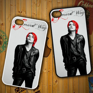 my chemical romance gerard black red Z0267 LG G2 G3, Nexus 4 5, Xperia Z2, iPhone 4S 5S 5C 6 6 Plus, iPod 4 5 Case