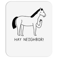 hey horse! Mousepad