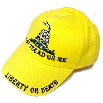 Don't Tread on Me Baseball Style Hat
