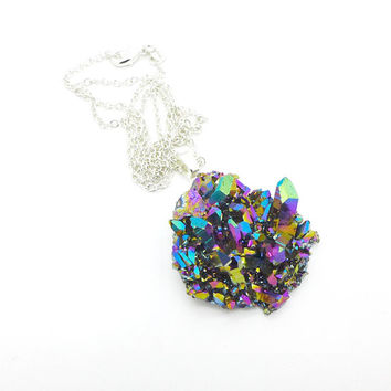 Aura Quartz Necklace