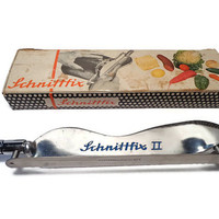 Schnittfix II  . Adjustable Rapid Slicer . Bread Knife .