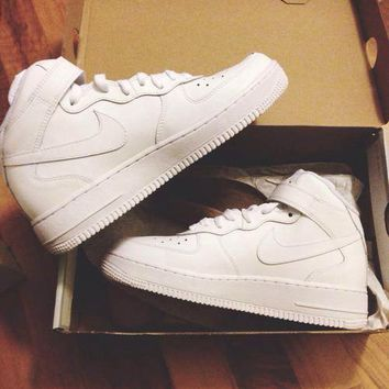 NIKE Women Men Running Sport Casual Shoes Sneakers Air force high tops and Low help shoes HIGH QUALITY-3