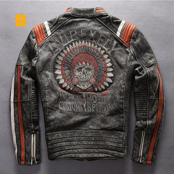 Vintage Indian Bomber Jacket