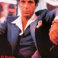 Scarface Bad Guy Al Pacino Poster 24x34