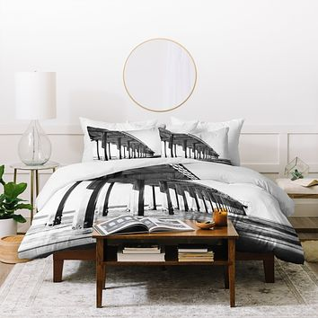 Bree Madden The Pier Duvet Cover