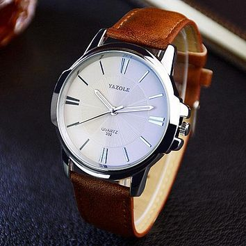 Men Luxury Business Wrist Watch