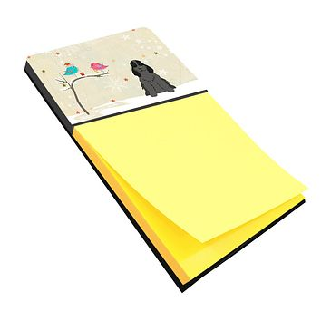 Christmas Presents between Friends Cocker Spaniel Black Sticky Note Holder BB2564SN