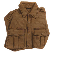 Rugged Epaulette Shirt