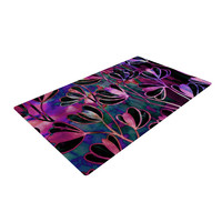 "Ebi Emporium ""Efflorescence - Mixed Berry"" Pink Purple Woven Area Rug"