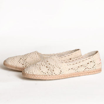 Rocketdog Chillout Crochet Flats - $38.99 : ShopRuche.com, Vintage Inspired Clothing, Affordable Clothes, Eco friendly Fashion