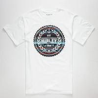 Hurley Navabra Seal Mens T-Shirt White  In Sizes