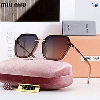 Miu Miu  Fashion new polarized travel sun protection women glasses eyeglasses 1#