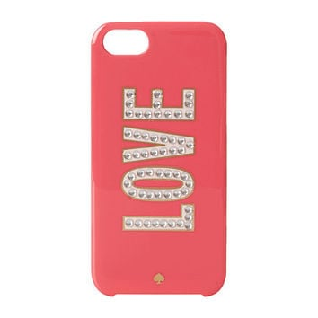 Kate Spade New York Love Resin Phone Case for iPhone® 5 and 5s