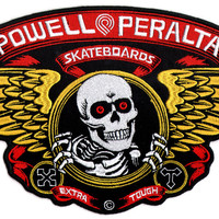 Powell Peralta Large Winged Ripper Skateboard Patch