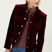 Lona Velvet Jacket Discover the latest fashion trends online at storets.com