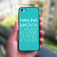 iphone 5C case,Hakuna Matata,iphone 5S case,iphone 5 case,iphone 4S case,ipod 4 case,ipod 5 case,Blackberry Z10 case,Blackberry Q10 case