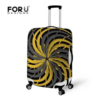 2016 Design Style Travel Packing Bags Suitcase Accessories for Men's Women Luggage Cover for Waterproof Protective Case Set