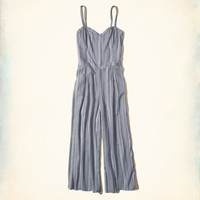Girls Crop Culotte Jumpsuit | Girls Dresses & Rompers | HollisterCo.com