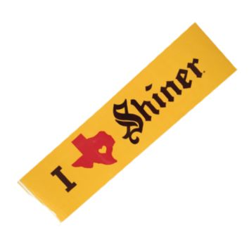 I TX Shiner Bumper Sticker