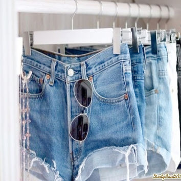 Mystery Denim Shorts High Waisted Shorts:Sexy Jean Shorts : All Sizes