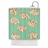 "Rosie Brown ""Scallop Shells"" Shower Curtain"