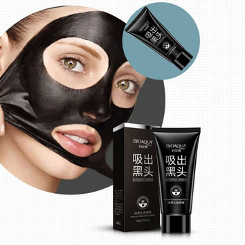 Nose Blackhead Removal Mask Peel Mineral Black Head Mud Deep Clean Nose Face Mask New Arrival