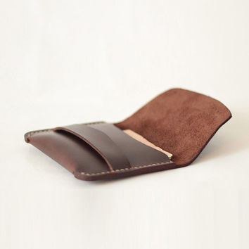 Mes wallets / Mens Leather Wallet credit card holder / Card Leather Wallet