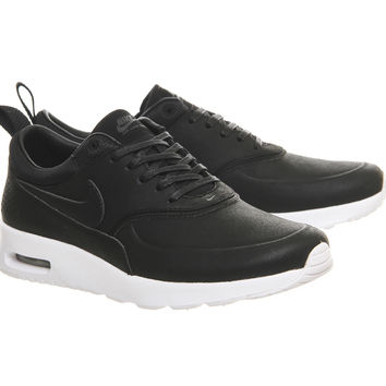 Nike Air Max Thea Black Black Anthracite Prem - Hers trainers b54821532
