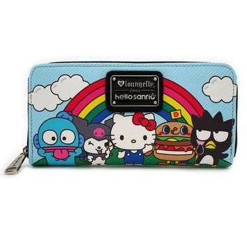 Loungefly x Hello Sanrio Characters/Rainbow Wallet - Wallets