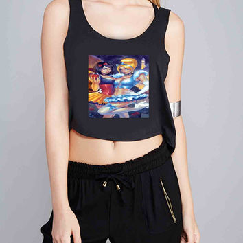 Snow White Cinderella for Crop Tank Girls S, M, L, XL, XXL *07*