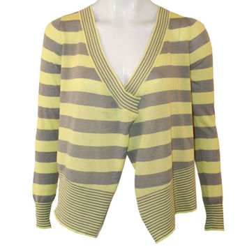 Billabong - On Deck Citrus Yellow Juniors Cardigan Sweater
